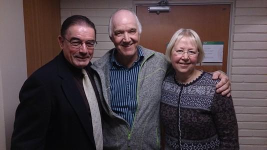 Tim Peters, Jens og Eli. 29.okt.2013.NLA