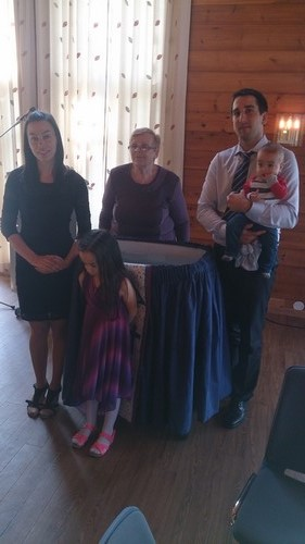 Poli, Ilian. Nikolet, Johannes og mamma til Ilian