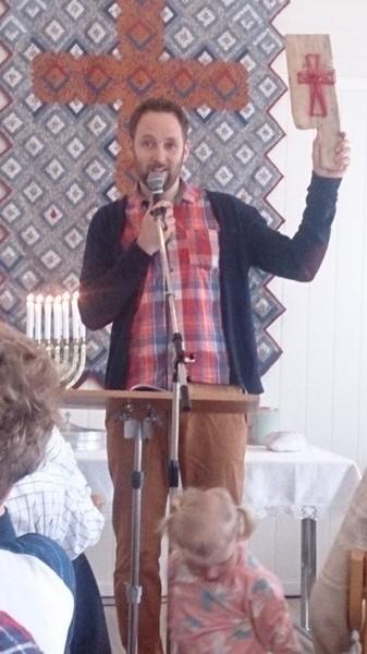 Knut Arve, påskedag 16