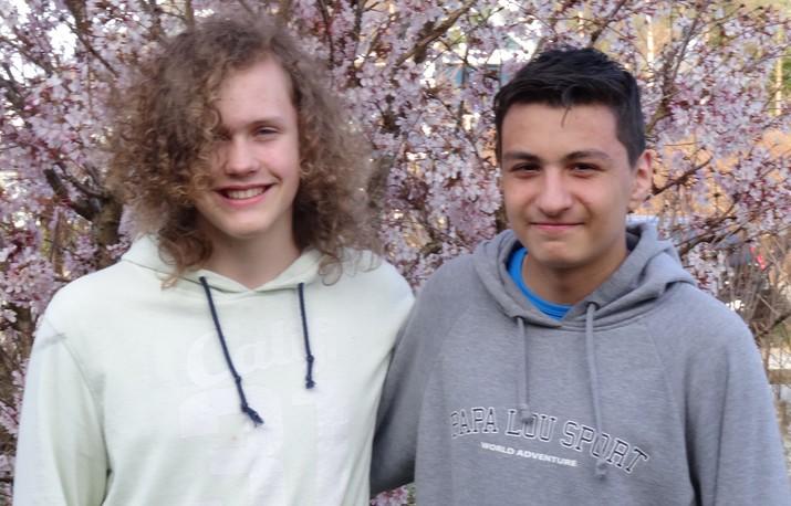 Johannes og Amir jpg